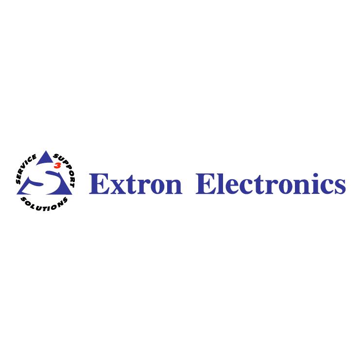 free vector Extron electronics