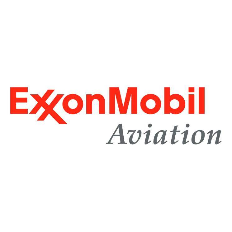 free vector Exxonmobil aviation