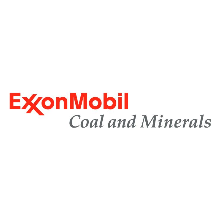 free vector Exxonmobil coal and minerals