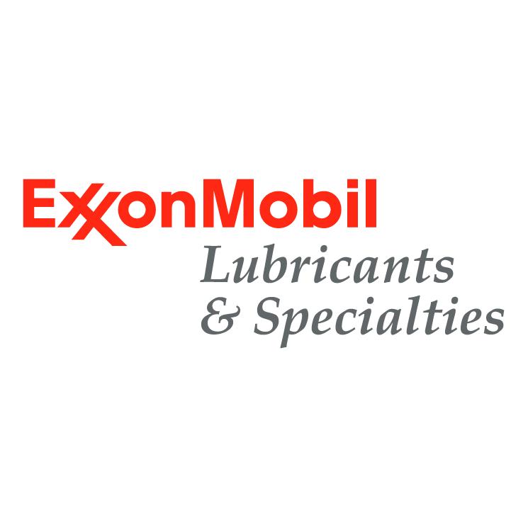 free vector Exxonmobil lubricants specialties