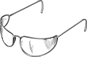 free vector Eyeglasses clip art