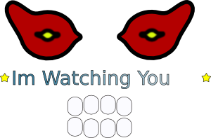 free vector Eyes Logotype clip art 125567