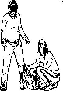 free vector Eylemciler clip art