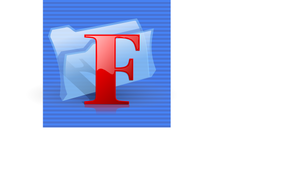 free vector F Folder Icon clip art