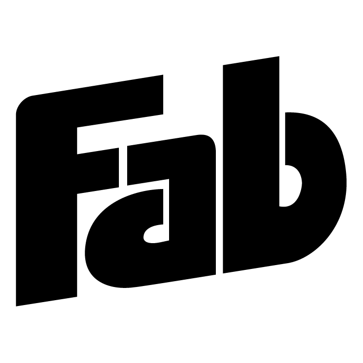 Fab Template: Fab (70200) Free EPS, SVG Download / 4 Vector