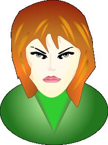 free vector Face clip art 103843
