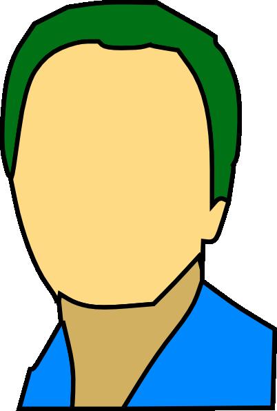 free vector Face Shoulders Head clip art