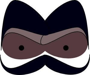 free vector Face With Mustaches clip art