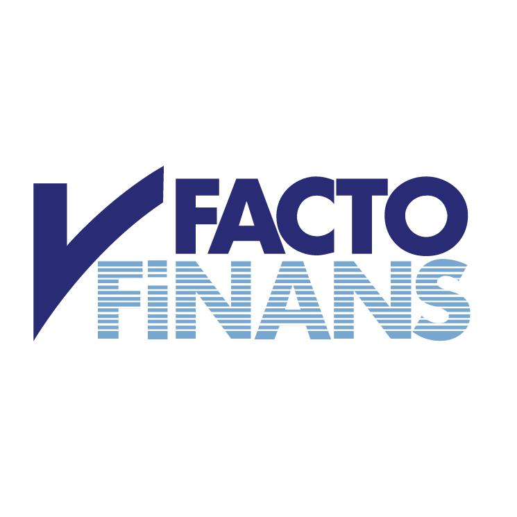 free vector Facto finans