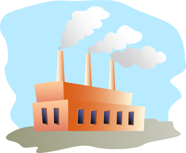 free vector Factory clip art