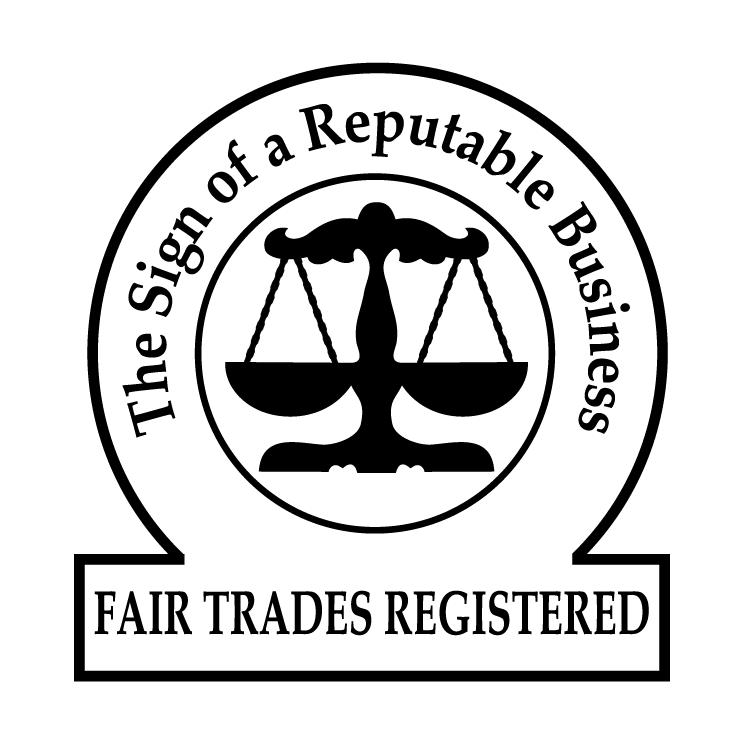 free vector Fair trades registered