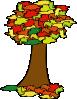 free vector Fall Tree clip art