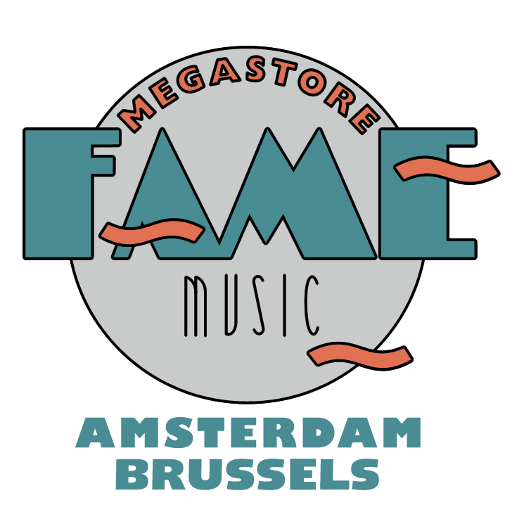 free vector Fame music megastore