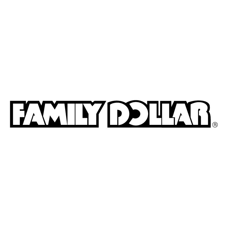 free vector Family dollar 0
