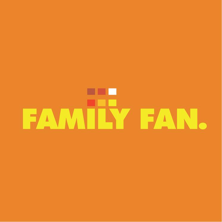 free vector Family fan