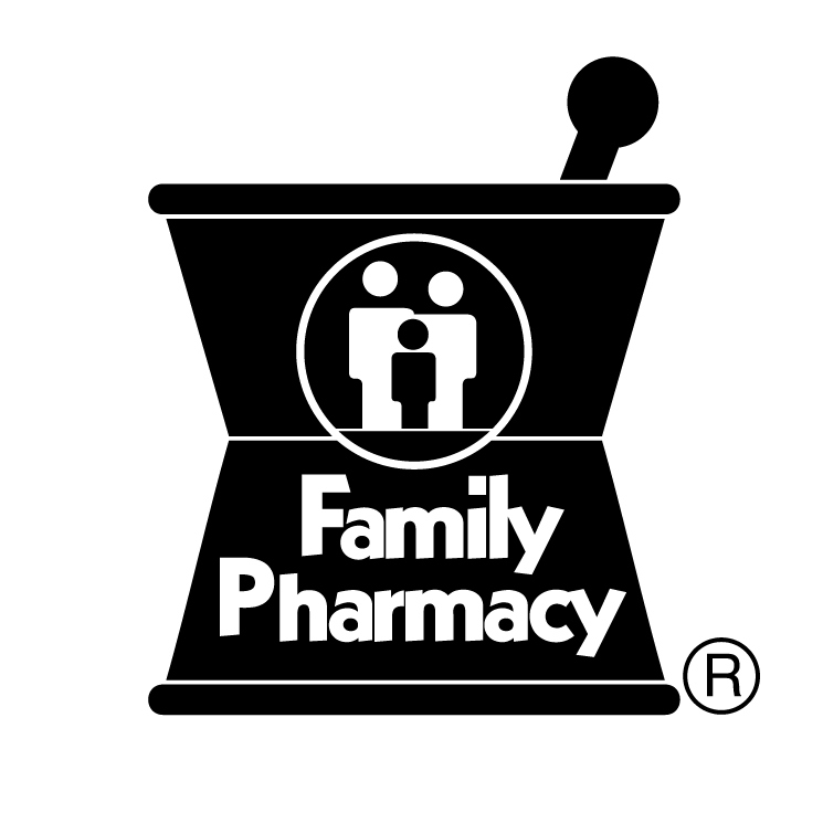 free vector Family pharmacy