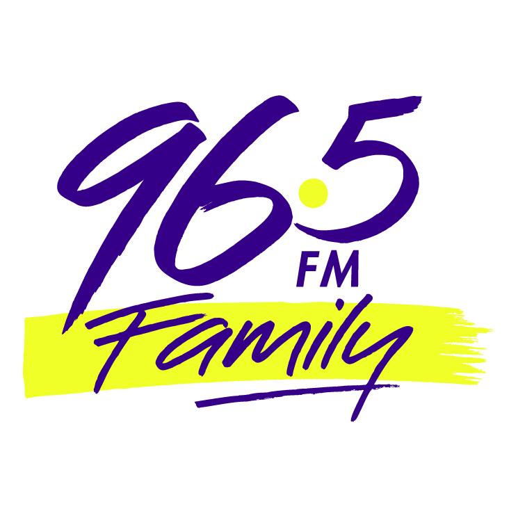 free vector Family radio 965 fm