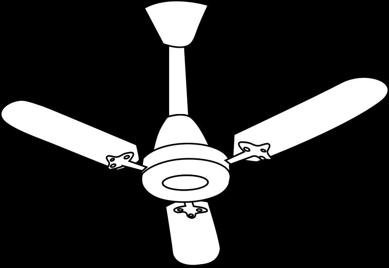 free vector Fan Line Art