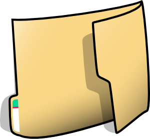 free vector Fancy Folder clip art