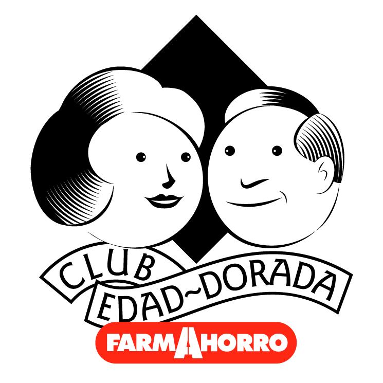 free vector Farmahorro club edad dorada