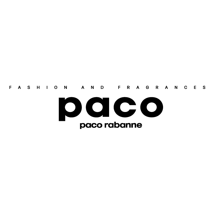 free vector Fashion and fragrances paco