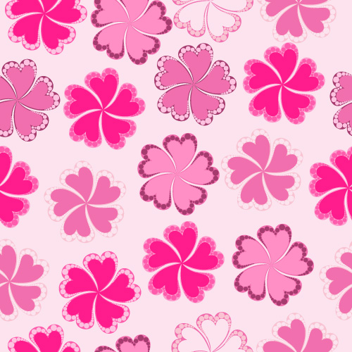 free vector Fashion cute background 2 vector material