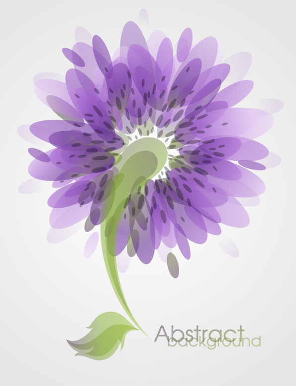 free vector Fashion flowers vector 3