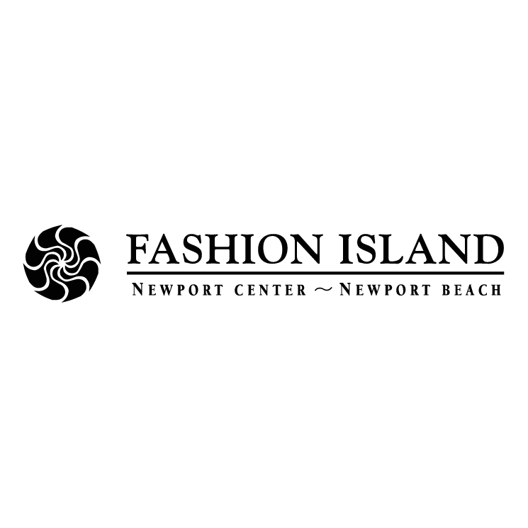 free vector Fashion island