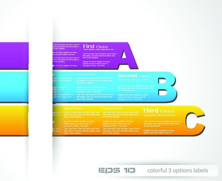 free vector Fashion label design 03 vector