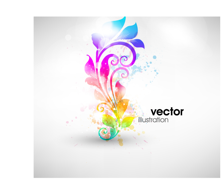 free vector Fashion pattern vector 4 symphony