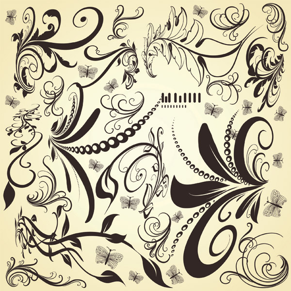free vector Fashion pattern vector