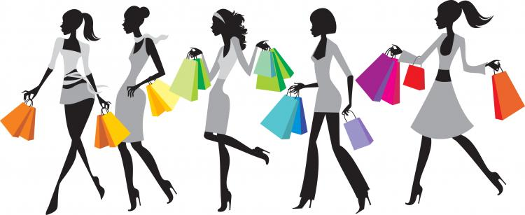fashion shopping 01 vector free vector 4vector rh 4vector com fashion vector images fashion vector free download