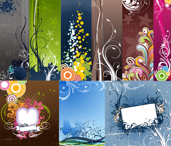 free vector Fashion Vector Background Graphic Pack