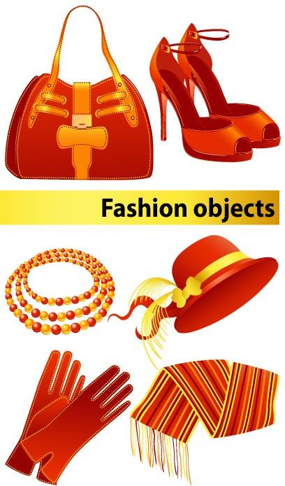free vector Fashion women vector goods