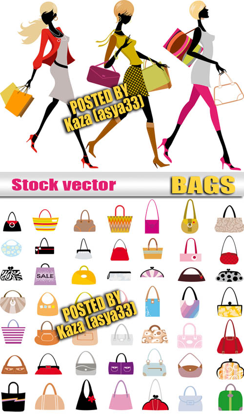 free vector Fashion women vector
