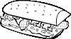 free vector Fast Food Breakfast Ff Menu clip art