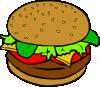 free vector Fast Food Lunch Dinner Ff Menu clip art 112798