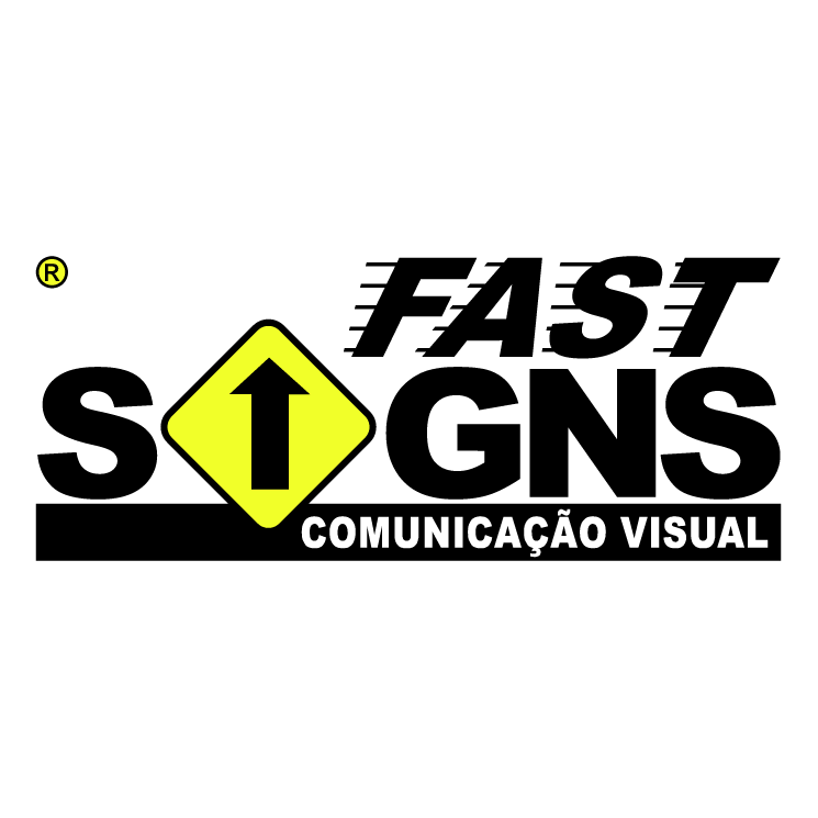 free vector Fast signs comunicacao visual