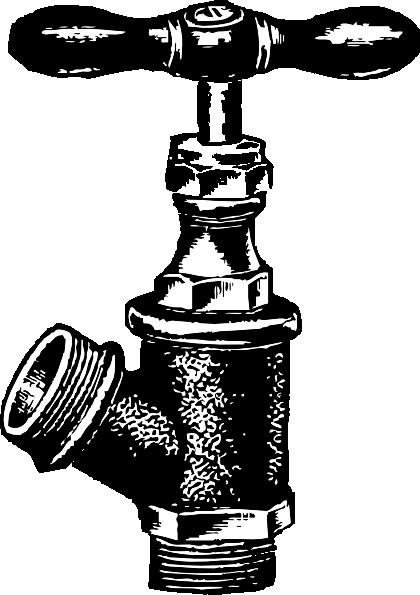 free vector Faucet Plumbing clip art