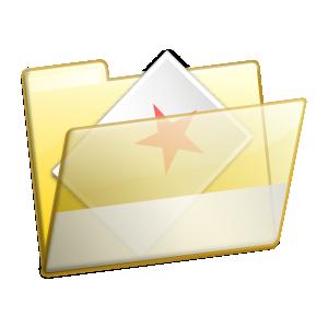 free vector Favorites Folder Icon clip art