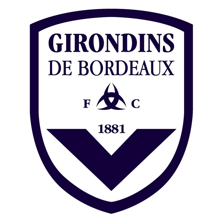free vector Fc girondins de bordeaux