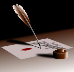 free vector Feather Pen clip art