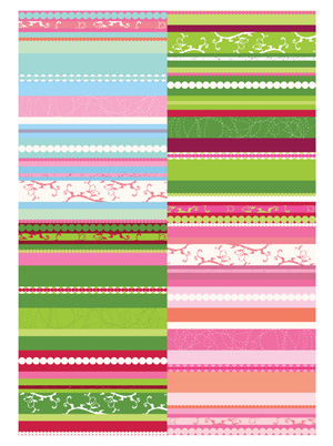 free vector Featured tile pattern vector background material -1