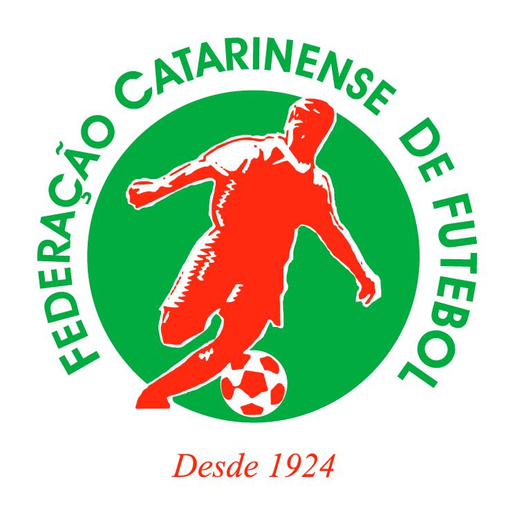 free vector Federacao catarinense de futebol scbr