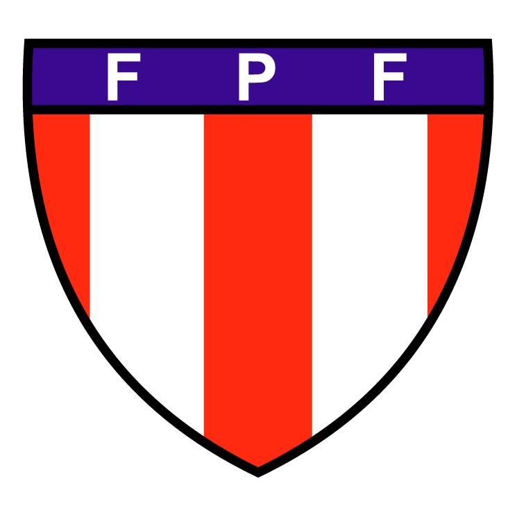 free vector Federacao paraense de futebol pa 0