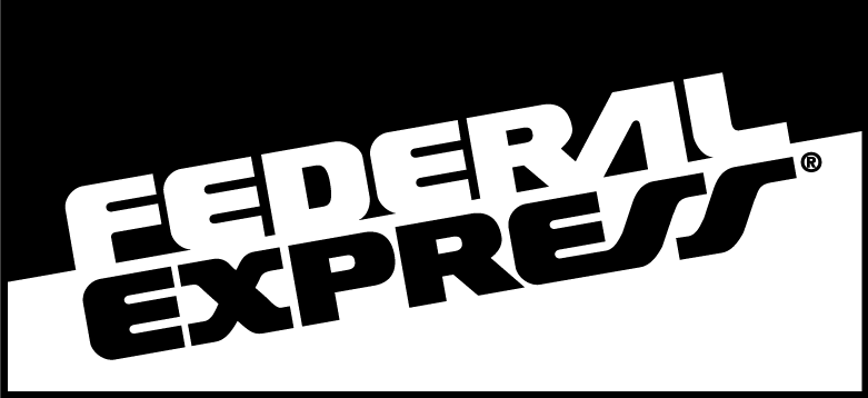 free vector Federal Express logo