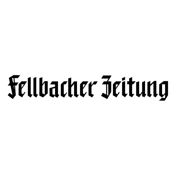 free vector Fellbacher zeitung