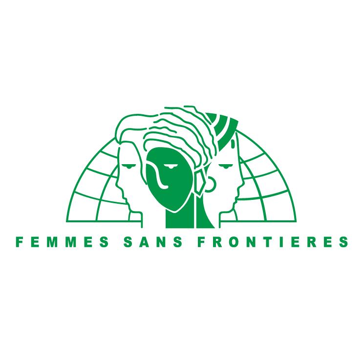 free vector Femme sans frontieres