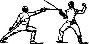 free vector Fencing clip art