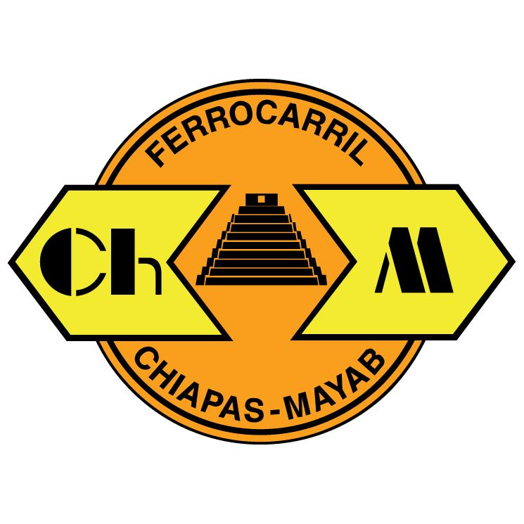 free vector Ferrocarriles chiapas mayab